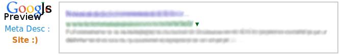 plxGoogleSnippetPreview démonstration vignette/snippet Google